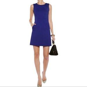 DIANE VON FURSTENBERG Capreena Dress Blue Size 10